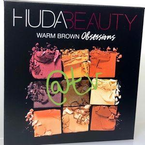2/$35 HUDA Obsessions Eyeshadow Palette Warm Brown